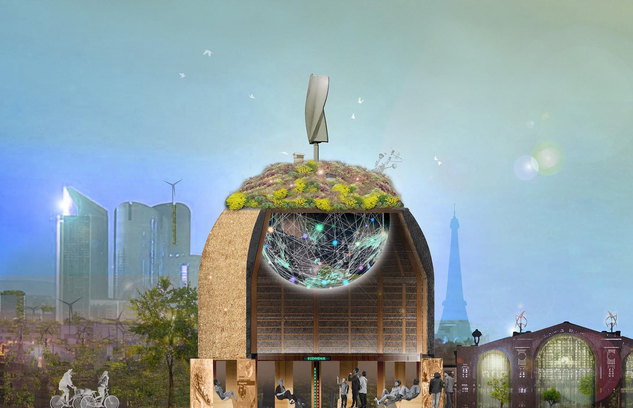 maskarade architecture - écodrôme