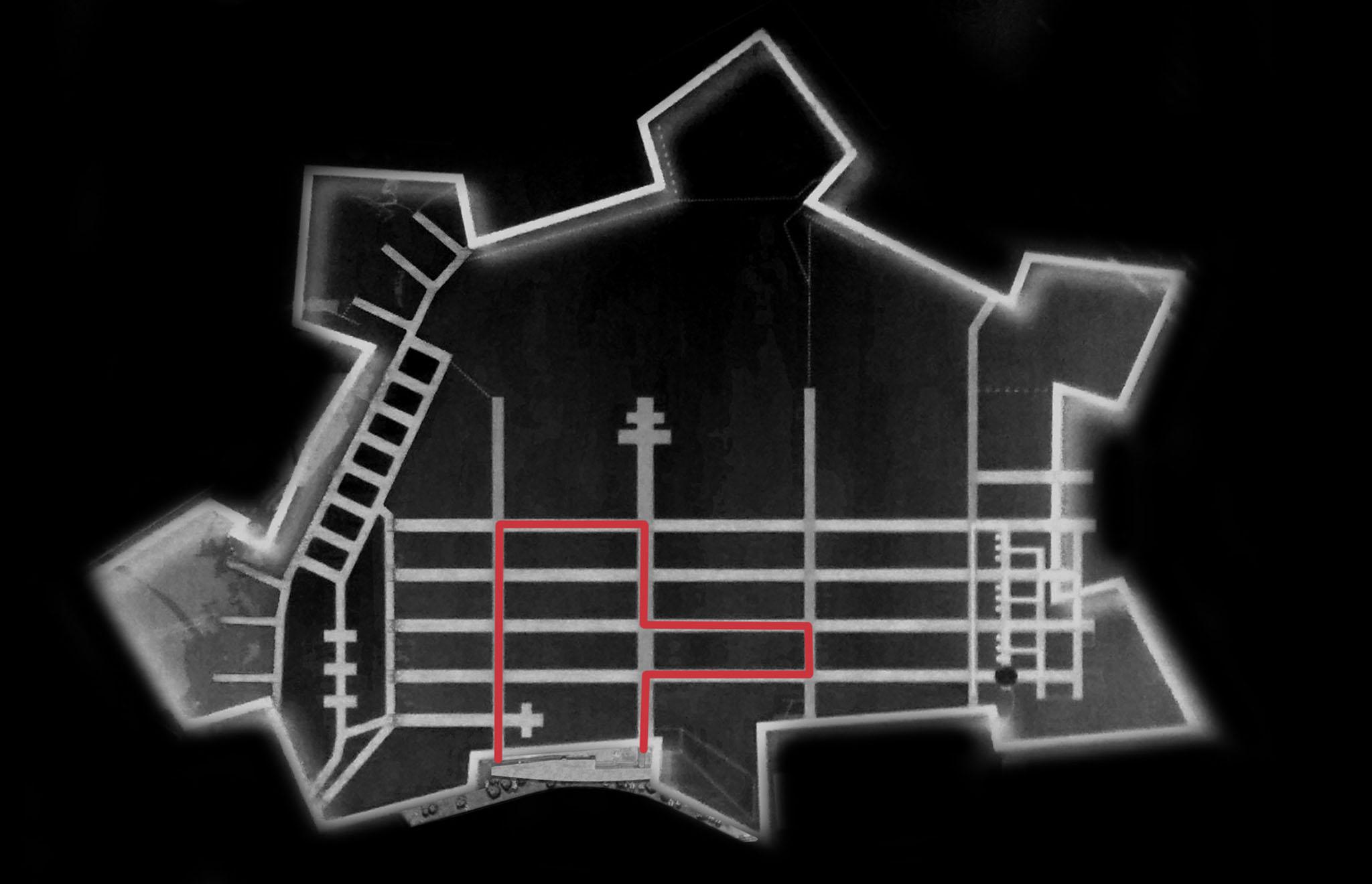 maskarade-scenographie-verdun-citadelle-basse-grand-guerre-monument-plan